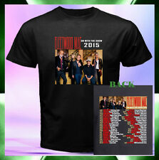 Fleetwood Mac Rock Band On With The Show Tour Date 2015 2 Sides T-Shirt S to 3XL