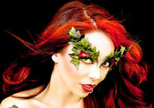 Nature Ivy Rhinestone Glitter Eye Makeup Kit Costume Xotic Bold Stage Leaved Kit