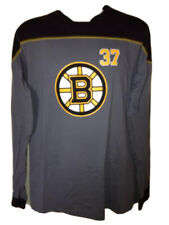 Boston Bruins Patrice Bergeron Long Sleeve Jersey T-Shirt