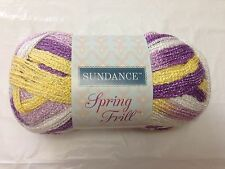 Sundance Easter Spring Frill Yarn Assorted Colors Shimmery Discontinued CombShip