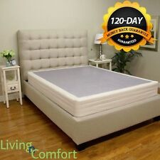 King or Cal King Boxspring Box Spring Foundation for Memory Foam or any Mattress