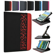 DC6 Kroo 7 inch Deco 360 Rotating Folding Folio Tablet & e-Reader Stand Cover