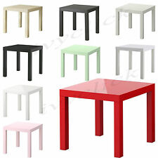 IKEA LACK SIDE SQUARE TABLE COFFEE HOUSE OFFICE FULL END DISPLAY 11 COLOURS GIFT
