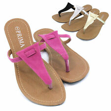 Womens Summer Flip Flops Thong Strap Slippers Fashion Flat Sandals Shoes New