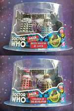DOCTOR WHO DALEK COLLECTORS SET TOYS R US UK EXCLUSIVE RELEASE COLLECTION FIGURE