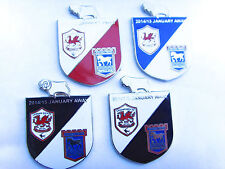 Derby 2014/15 January Away v Ipswich Town & Cardiff City Pin Badge