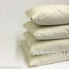 Pack of 4 100% Natural Duck Feather Cushion Cover Fillers Inners Pads Insert