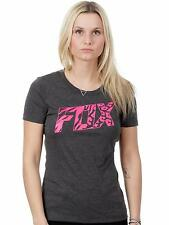 Fox Girls T-Shirt Bonnie Tech Heather Schwarz