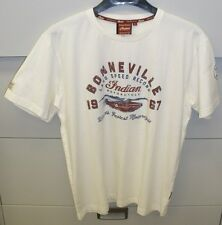 Men's Indian Motorcycle Heritage Munro Bonneville Tee - NWT