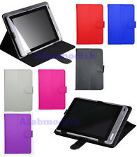 "For Various 9.7 Inch Tablet PC 9.7"" Universal PU Leather Stand Folio Case Cover"
