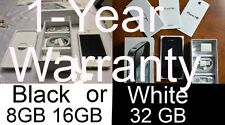 NEW Unlocked iPhone 4S 8GB 16GB 32GB Black White TMobile Straight Talk Metro PCS