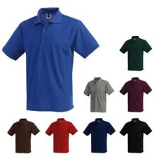 Mens Dry Polo Shirts High Quality Made in USA LA Speedy Dry-Fit Collar Shirt