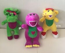 "Dinosaur Barney Soft Stuffed Plush Toy Doll 8"" New Quality Sing English Song"