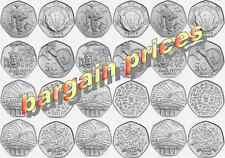 Rare 50p Coins, Both Olympic and Commemorative, Excellent Prices