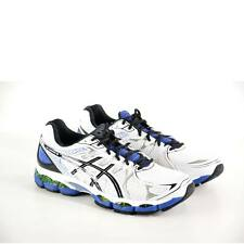 Asics Mens Running Shoes  T437N0190 Gel Nimbus 16 Wht/Blk Synthetic