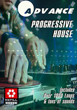 PROGRESSIVE HOUSE Propellerhead Reason Refill 5 6 7 Bass Drums Loops Synth HUGE