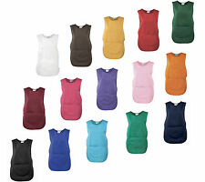TABARD WITH POCKET PLAIN 15 COLOURS TABBARD CATERING CLEANING PREMIER WORKWEAR