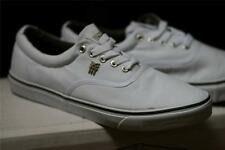 Fenchurch Varial Canvas Trainers White Various Sizes