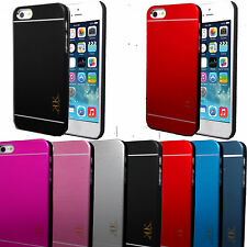 New Generic Brush Aluminium Metal Case Cover For Apple iPhone 5G/5S & 4G/4S