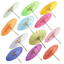 2015 Chinese Japanese Umbrella Art Deco Painted Parasol For Wedding Dance Party