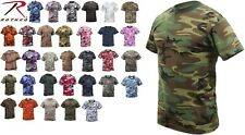 Army Marine Navy AF Camouflage Tactical Military Short Sleeve Camo T-Shirt