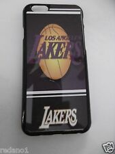 NBA Los Angeles Lakers Apple iPhone 5 5S 6 6 Plus Galaxy S4 S5 Cover White Black