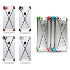 X-Shape Aluminum Metal Steel Hard Skin Case Cover Protector For Apple iPhone 5S