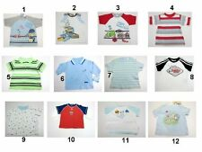 NEW Toddler Infant Baby Boys Tops T Shirts Mix Size And Brands