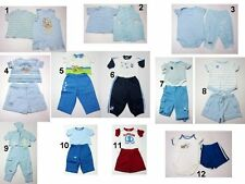 NEW Infant Baby Boys 2 Pc.tops Pants Romper Outfit Set Sz:0-3,3-6,6-9,12 Months