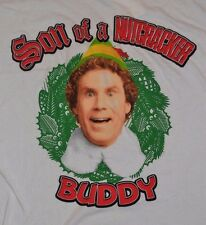 BUDDY Son of a Nutcracker Adult Christmas T-Shirt ELF Tee Officially Licensed
