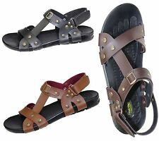 BOYS MENS VELCRO STRAP SPORTS SANDALS COMFORT WALKING SUMMER MULES GLADIATOR