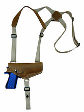 NEW Barsony Olive Drab Leather Shoulder Holster for Ruger Star Full Size 9mm HOR