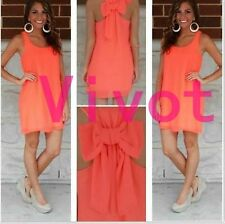 Sexy Women Lady Summer Casual Sleeveless Party Evening Cocktail Short Mini Dress