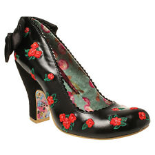 Brand new Irregular Choice Easy P Sea Womens Shoes in Black 4-8