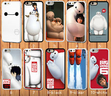 Big Hero 6 Baymax for iPhone 6 6+ 4S 5/5S 5C Samsung S3 S4 S5 Note 2/3/4 Case