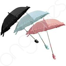 Universal Baby Sun Parasol Umbrella Canopy Pram Pushchair Buggy Removable Clip