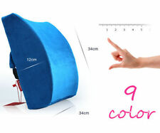 Car Office Home Memory Foam Seat Chair Waist Lumbar Back Support Cushion Pillow