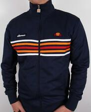 Ellesse Heritage - Elite Striped Track Top in Navy *EXCLUSIVE* Rimini
