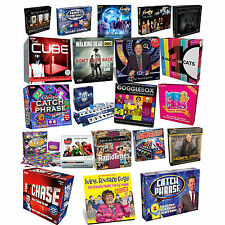 TV SHOW BOARD GAMES / FAMILY / CHILDREN / ADULTS / PARTY - LOTS TO CHOOSE FROM
