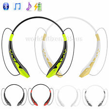 Bluetooth Wireless Headset SPORT Earphone Stereo Earbuds Headphone For iPhone LG
