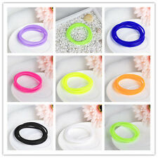 Hot Sales 5pcs Silicone Elastic Rubber Bracelets Games New Bangles Wristbands