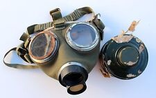 HUNGARIAN ARMY/CIVILIAN COLD WAR ERA M76 GAS MASK AND FILTER