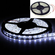 16.4FT 5M 5050 White SMD 300LED IP65 Waterproof Flexible Light Strip Lamp DC 12V