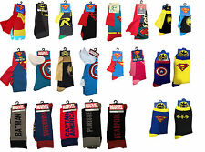 Chaussettes super-héros avec cape adulte! & kids-Superman Batman Robin uk vendeur