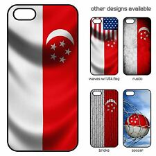 Case for iPhone 5 / 5S - Flag of Singapore - Choose your design