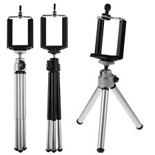 360° Rotatable Metal Stand Tripod Mount + Phone Holder For HTC For Sumsung