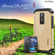 Galaxy S5 Active Case, Evocel® Dual Layer Armor Protector Case (SM-G870)