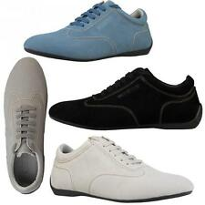 Sparco men's sneakers shoes casual lace-up suede sport drive imola F1 racing