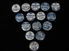 LA Dodgers  buttons flat back or pin badge cabochons embellishments centers