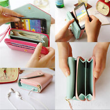 Wristlet Purse Wallet Phone for Multifunctional Galaxy S2/3 iPhone4 4S 5S 5C 6 d